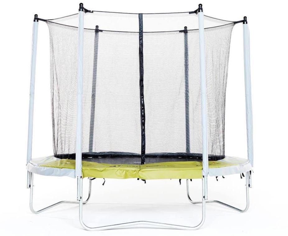Decathlon trampoline Essential 240 groen met veiligheidsnet