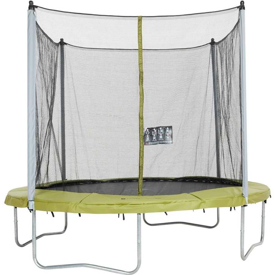 Decathlon trampoline Essential 300 met veiligheidsnet