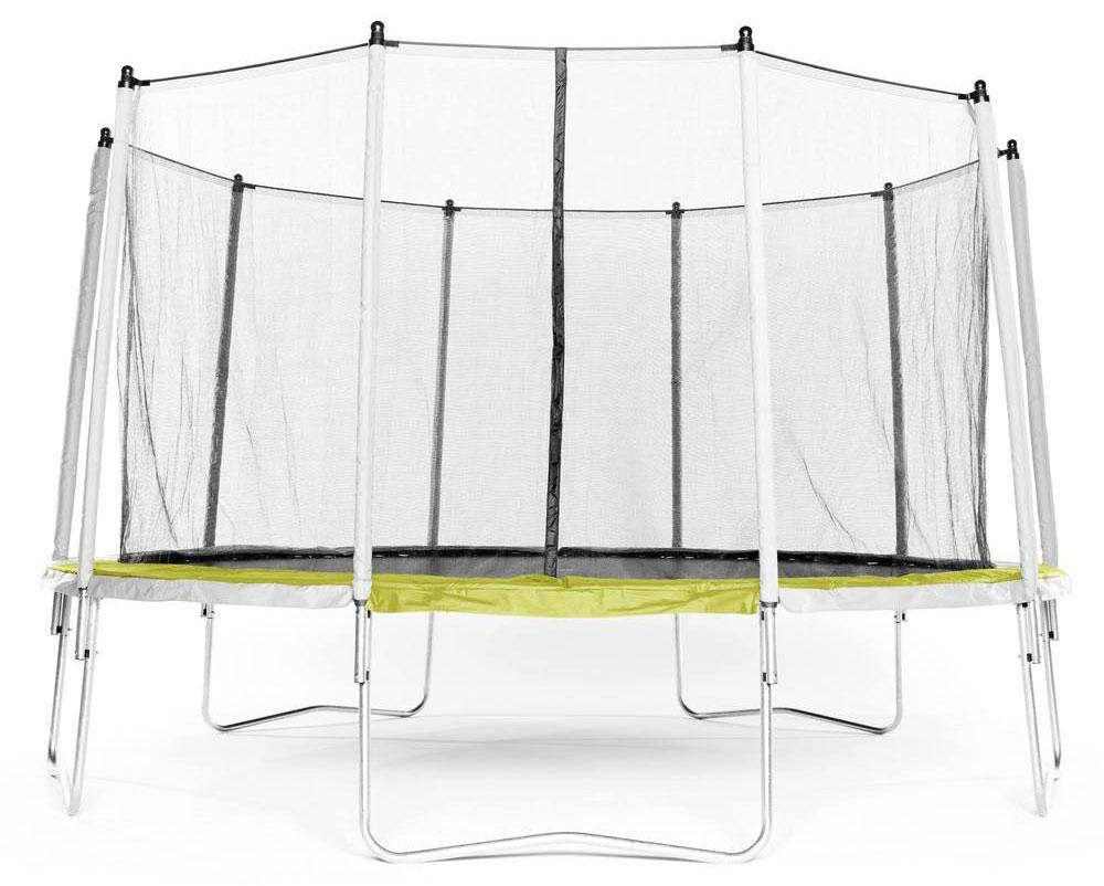 Decathlon trampoline Essential 420 groen veiligheidsnet