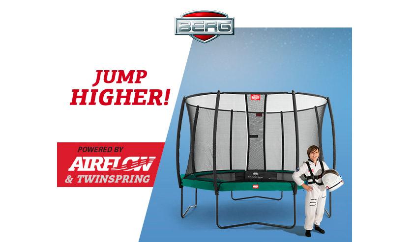 BERG trampolines